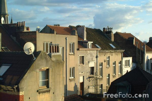 Picture of Roof Top View, Brussels, Belgium - Free Pictures - FreeFoto.com