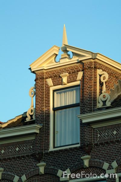 Picture of Window, Gouda, Holland - The Netherlands - Free Pictures - FreeFoto.com