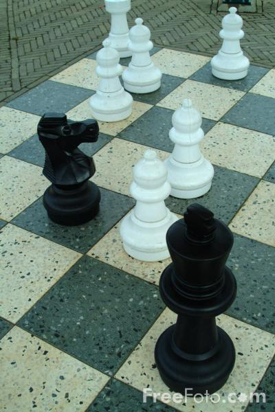Picture of Chess Board - Free Pictures - FreeFoto.com