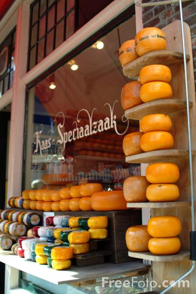 Picture of Edam Cheese, Holland - Free Pictures - FreeFoto.com