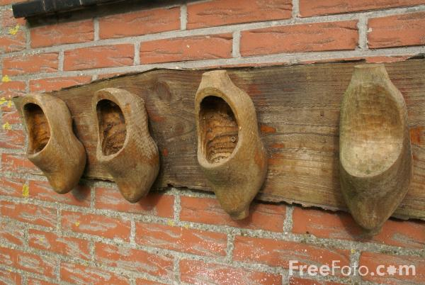 Picture of Clogs, Volendam, The Netherlands - Free Pictures - FreeFoto.com