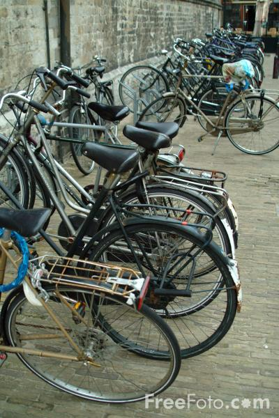 Picture of Bicycles, Delft, Holland - Free Pictures - FreeFoto.com