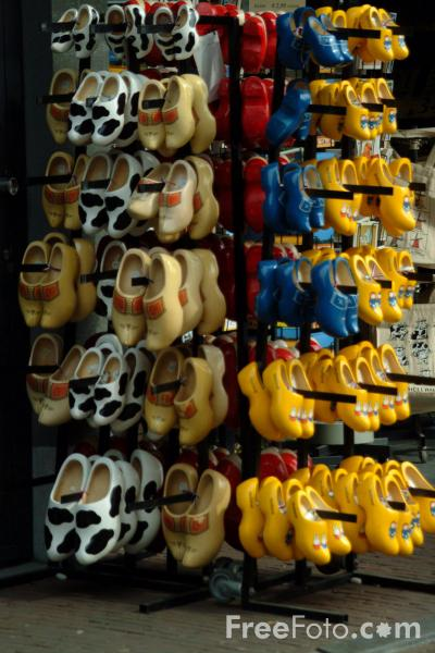 Picture of Clogs, Delft, Holland - Free Pictures - FreeFoto.com