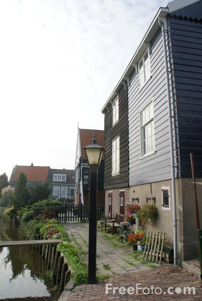 Picture of Marken, The Netherlands - Free Pictures - FreeFoto.com