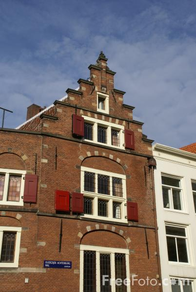 Picture of Canalside Building, Amsterdam, The Netherlands - Free Pictures - FreeFoto.com