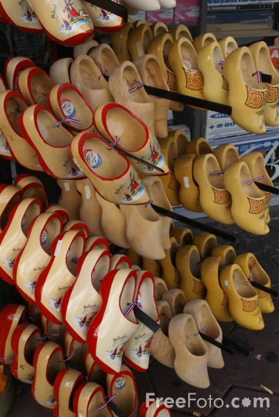 Picture of Dutch Clogs, Amsterdam, The Netherlands - Free Pictures - FreeFoto.com