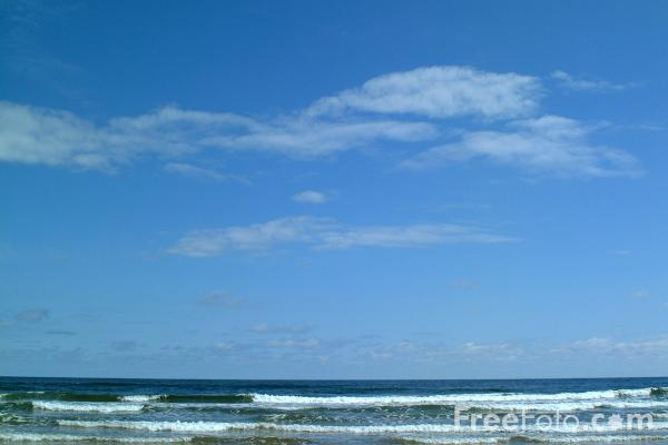 Picture of Seascape - Free Pictures - FreeFoto.com