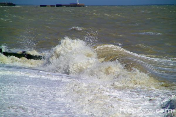 Picture of Stormy Sea - Free Pictures - FreeFoto.com