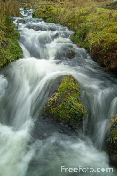 Picture of Waterfall, Isle of Skye, Scotland - Free Pictures - FreeFoto.com