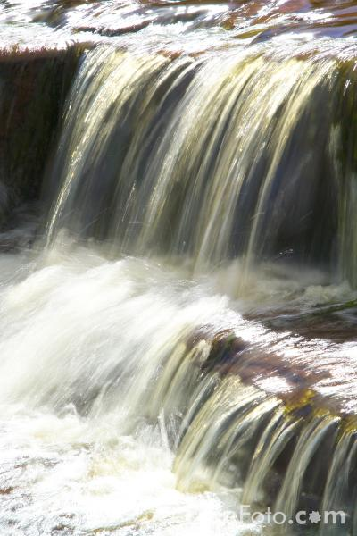 Picture of Waterfall, Stonedale Beck, North Yorkshire - Free Pictures - FreeFoto.com