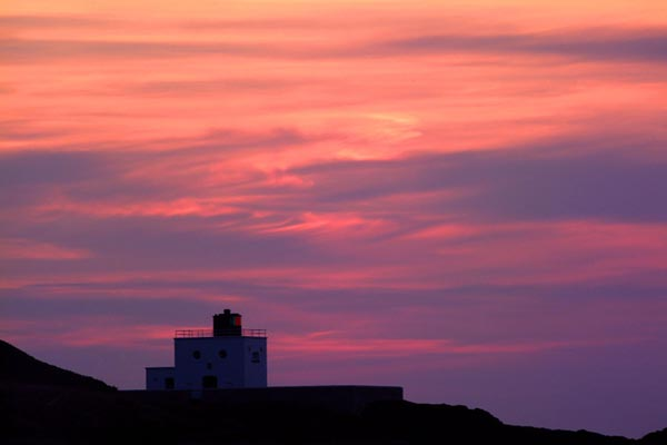 Picture of Sunset, Northumberland Coast - Free Pictures - FreeFoto.com