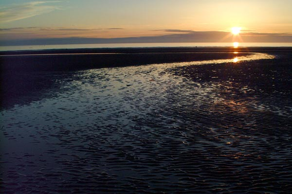 Picture of Sunset, Blackpool - Free Pictures - FreeFoto.com