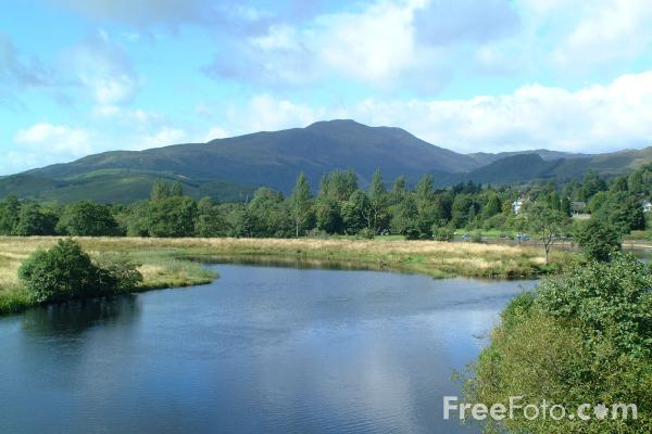 Picture of River Teith, Callander, Central Scotland - Free Pictures - FreeFoto.com