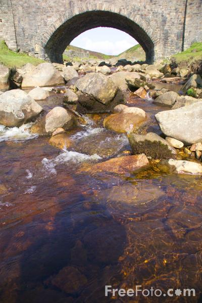 Picture of Stream, Yorkshire Dales, England - Free Pictures - FreeFoto.com