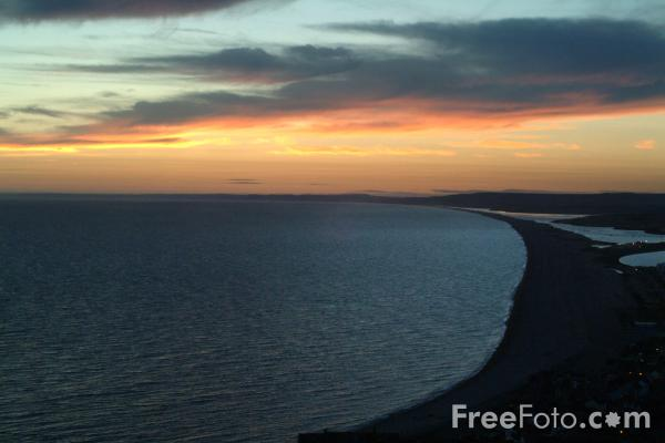 Picture of Sunset, Portland Bill, Dorset - Free Pictures - FreeFoto.com