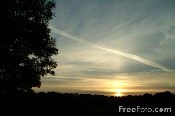 Picture of Sunset, Northumberland - Free Pictures - FreeFoto.com