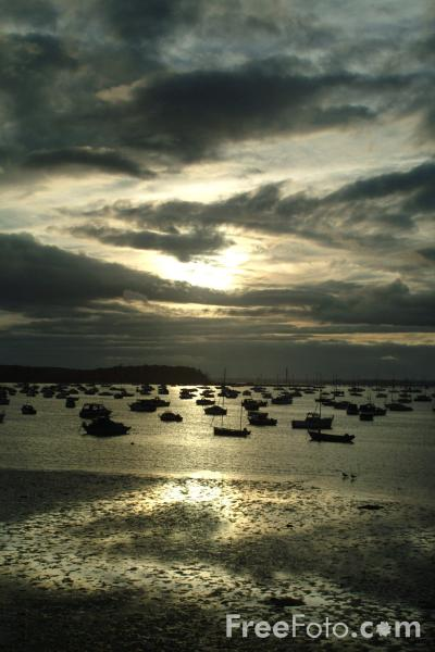 Picture of Sunset, Poole Harbour, Dorset - Free Pictures - FreeFoto.com