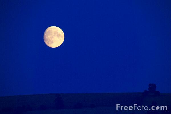 Picture of Moon - Free Pictures - FreeFoto.com