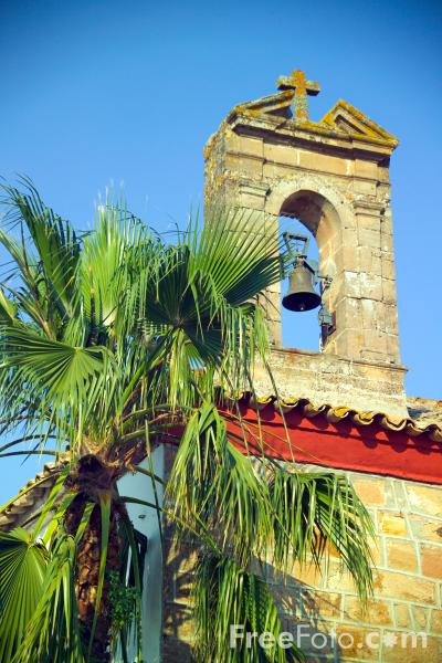 Picture of Church Tower and Bell - Free Pictures - FreeFoto.com