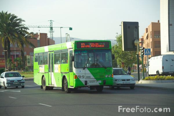 Picture of Bus, Cordoba, Spain - Free Pictures - FreeFoto.com