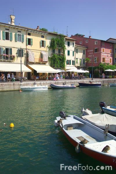 Picture of Port of Lazise, Lake Garda, Italy, - Free Pictures - FreeFoto.com