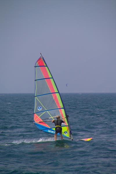 Picture of Windsurfing, Lake Garda, Italy - sport dell'acqua, Italia - Free Pictures - FreeFoto.com