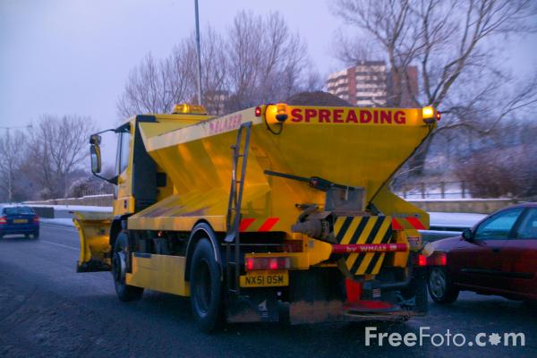 Picture of Snow Plough, Gateshead, Tyne and Wear - Free Pictures - FreeFoto.com