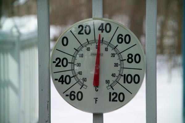 Picture of Outdoor Thermometer - Free Pictures - FreeFoto.com