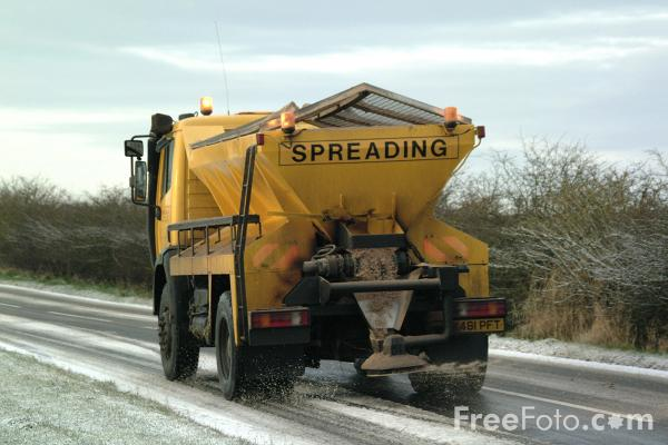 Picture of Road Gritter - Free Pictures - FreeFoto.com