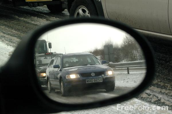Picture of Car Wing Mirror - Free Pictures - FreeFoto.com