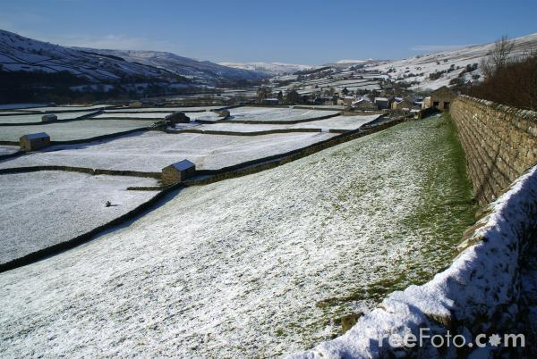 Picture of Swaledale in Winter - Free Pictures - FreeFoto.com