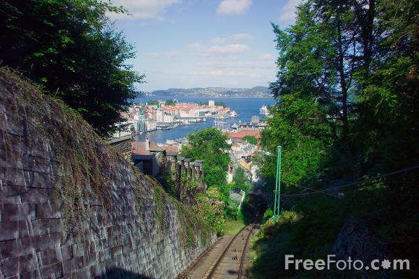 Picture of Funicular, Bergen, Norway - Free Pictures - FreeFoto.com