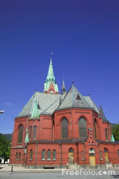 Picture of Saint John's Church, Johanneskirken, Bergen, Norway - Free Pictures - FreeFoto.com