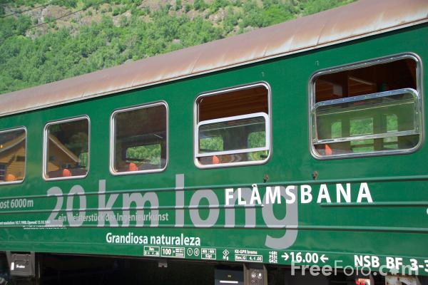 Picture of The Flam Railway, Norway - Free Pictures - FreeFoto.com