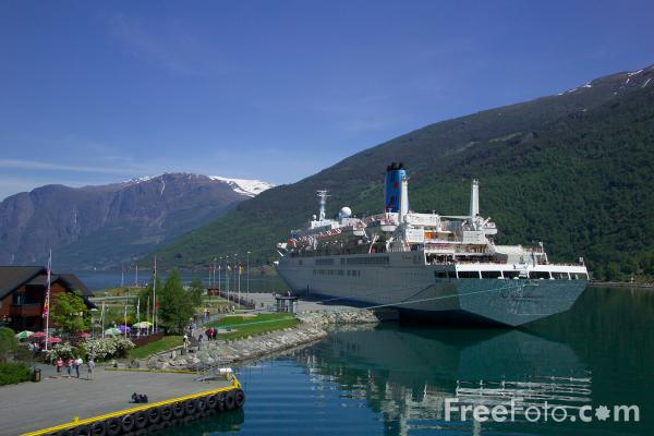 Picture of Thomson Celebration, Flam, Aurlandsfjord, Norway - Free Pictures - FreeFoto.com