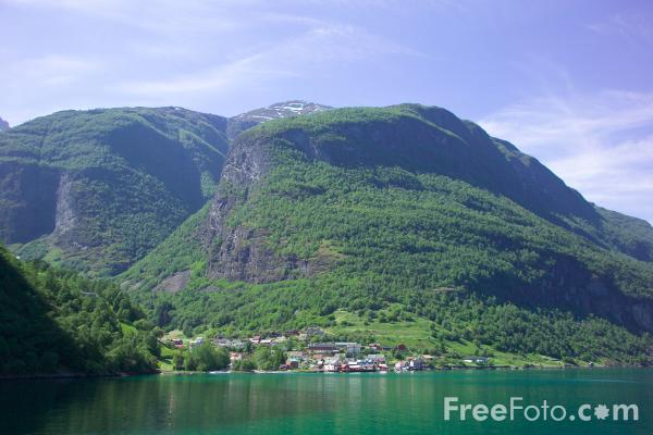 Picture of Undredal, Aurlandsfjord, Norway - Free Pictures - FreeFoto.com
