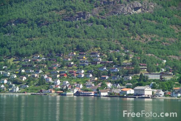 Picture of Aurlandsfjord, Norway - Free Pictures - FreeFoto.com
