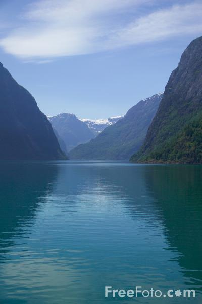 Picture of Naeroyfjord, Norway - Free Pictures - FreeFoto.com
