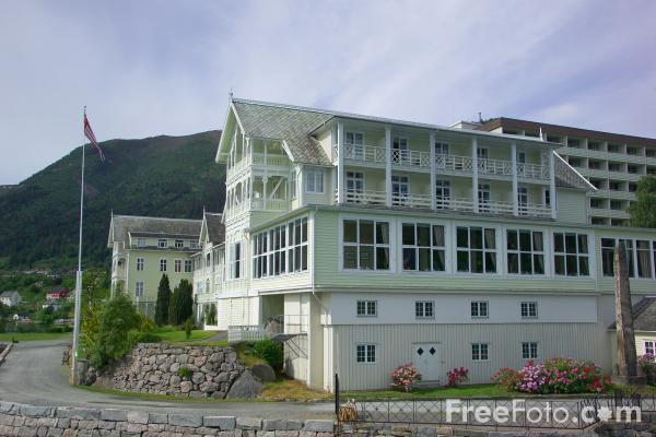 Picture of Balestrand, Sognefjord, Norway - Free Pictures - FreeFoto.com
