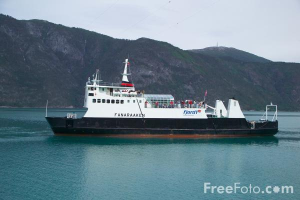Picture of Ferry, Sognefjord, Norway - Free Pictures - FreeFoto.com