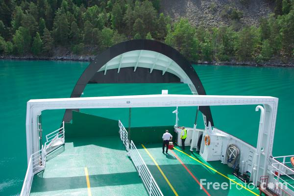Picture of CAr Ferry, Sognefjord, Norway - Free Pictures - FreeFoto.com