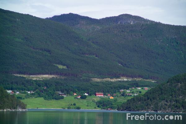 Picture of Sognefjord, Norway - Free Pictures - FreeFoto.com