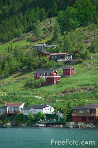 Picture of Kaupanger, Sognefjord, Norway - Free Pictures - FreeFoto.com