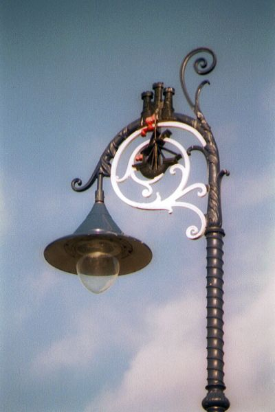 Picture of Street Light, Rothesay - Free Pictures - FreeFoto.com