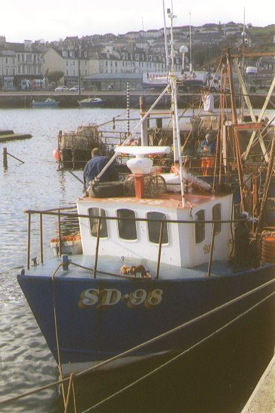 Picture of Fishing Boats, Rothesay Harbour - Free Pictures - FreeFoto.com