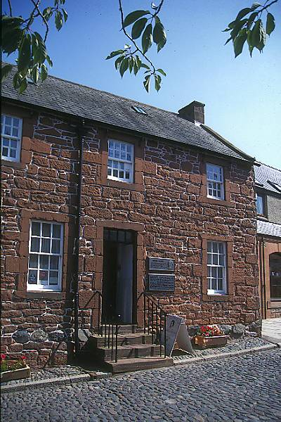 Picture of Burns House - Robert Burns died in this house in 1796 - Free Pictures - FreeFoto.com