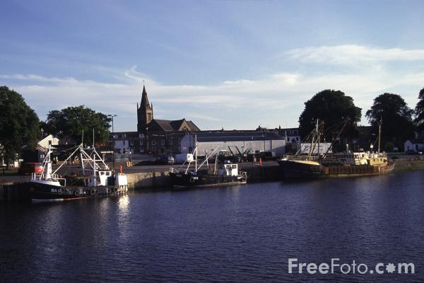 Picture of Kirkcudbright - Free Pictures - FreeFoto.com