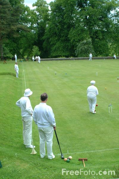 Picture of Croquet - Free Pictures - FreeFoto.com