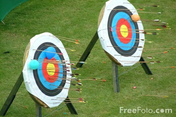 Picture of Archery - Free Pictures - FreeFoto.com