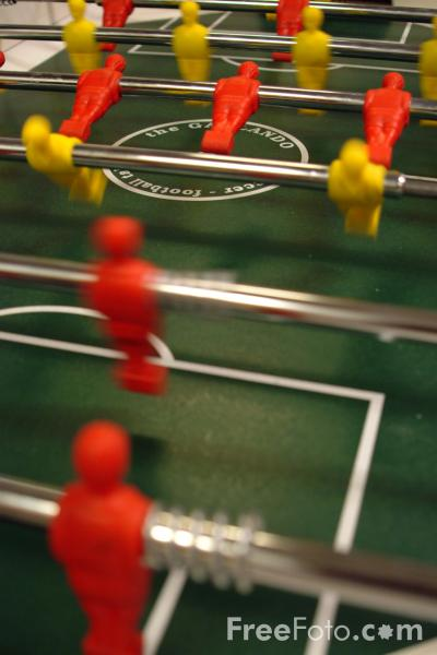 Picture of Foosball Table - Free Pictures - FreeFoto.com